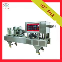 Automatic Pudding Cup Filling Sealing Machine