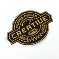 High Quality Iron On Personalized Embroidery Patches For Fashion Clothing Accessory