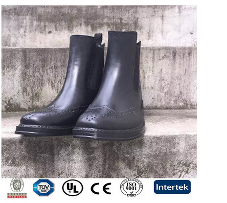 Men Mid Height Cool PVC Boots for European Market