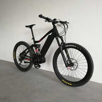 Bafang ebike mid drive 1000W full suspension mountain bike