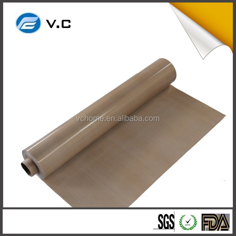 heat conductive teflon fiberglass fabric coated with ptfe electric conductive