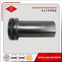 high pure graphite crucible for gold melting furnace,graphite melting crucible,2kg graphite crucible