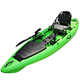 11.8' Plastic Kayak Sit On Top With Rudder and Foot Rest
