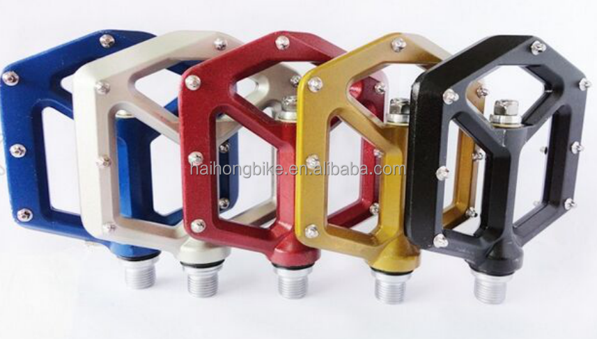 Aluminum alloy bike pedals MTB / mountain peak pedals with good quality / custom bike pedals