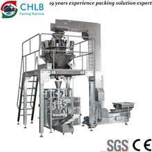 Vertical packing machine for 4kg peanuts