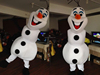 Christmas cosplay snowman olaf mascot costume for adult