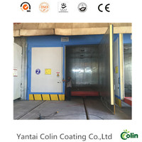 whole sell high temperature type powder coating curing oven with infrared burner