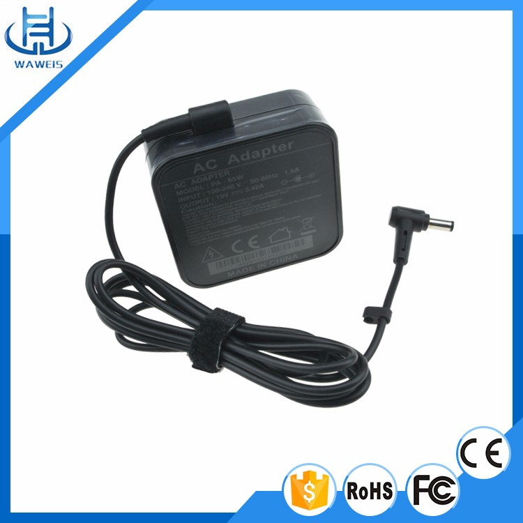 OVP OCP SCP 65W 19V 3.42A laptop adapter charger for ASUS
