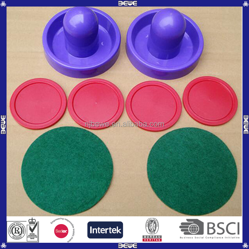 Colorful Plastic Air Hockey Pucks For Air Hockey Table Game