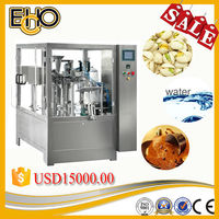Top rated advanced multifunctional rotary flat bottom bag given full Automatic Fruit Jam fill packing line
