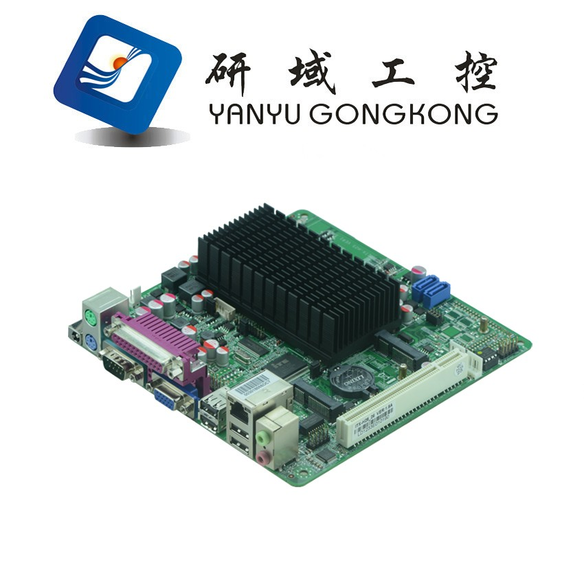 Factory best prices Intel Atom N2800 fanless industrial motherboard for car pc X86 embedded linux board hot selling