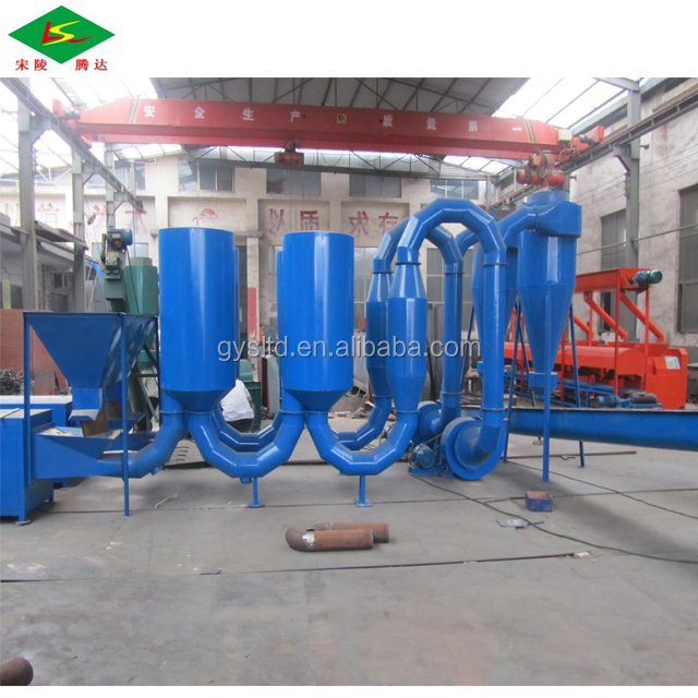 High productivity wood powder rotary drum dryer