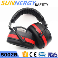 China manufacturer work abs safety helmet ear muffs for sale