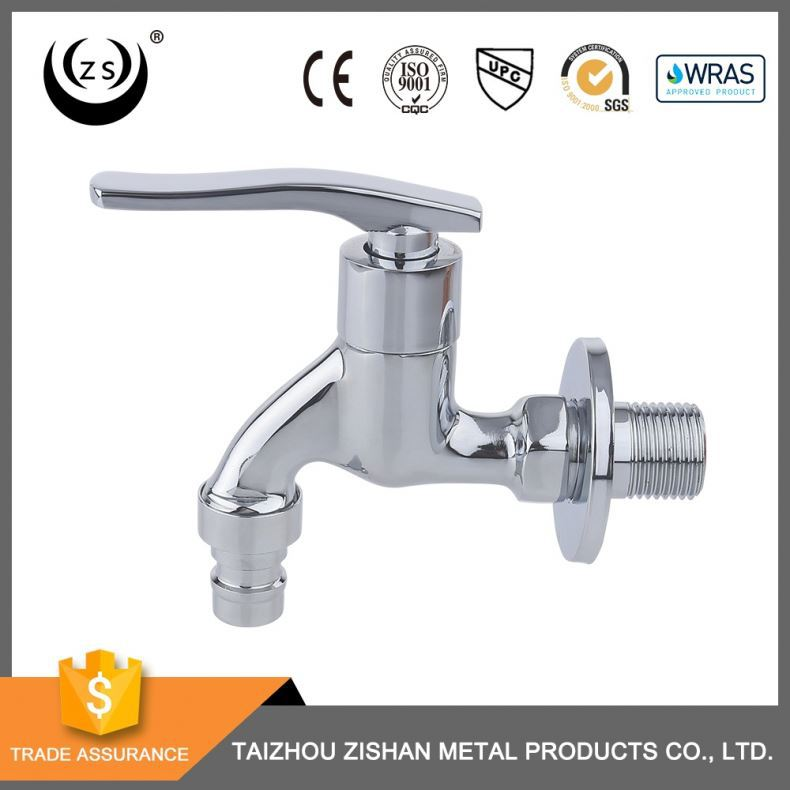 Reliable supplier competitive price wall mounted 1/2 inch kitchen faucet brass bibcock water tap extension