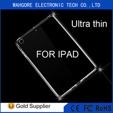 Ultra thin tpu case for ipad cover transparent case