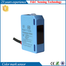 infrared source Mirror reflection photoelectric sensor, color mark switch, transparent object detection