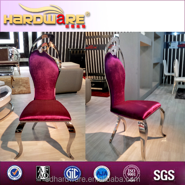 2016 new model fabric dining chair/fabric for wedding chair cover