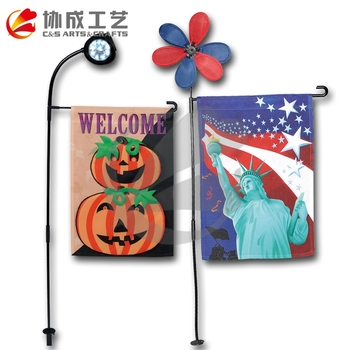 Good Quality Double Sides Printing Garden Flag