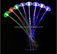 promotional giveaways wedding gift indian wedding favors led flashing hair clip/gift led hair braid