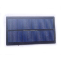 5V 0.75W Mini Monocrystalline Silicon Solar Panel 107*60mm A Grade Small Solar Cell PV Module for DIY Solar Kits