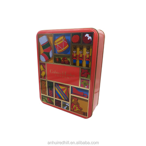 custom printed money tins rectangular money coin storage box for kids