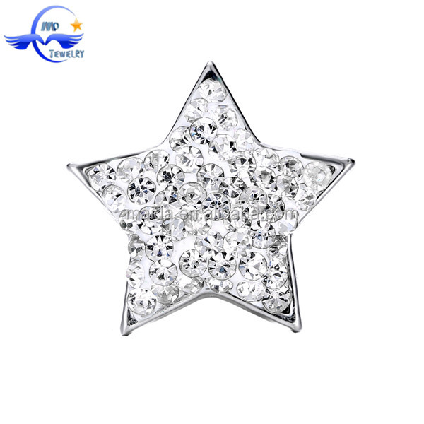 Jewelry Supplies Wholesale Handmade Charms Rhinestone Detachable Snap Button For Diy Jewelry