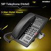 Wifi sip desk phone hotel room service sip intercom office wifi sip phone
