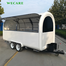High quality bakery food cart trailer for sale