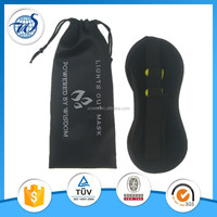 Promotion black satin printing with pouch sleeping eyeshade