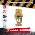 fujian huaxia quick response pendent fire sprinkler for fire fighting