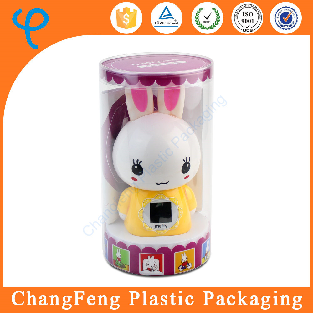 Cheap Plastic Clear Round Packaging Box Doll