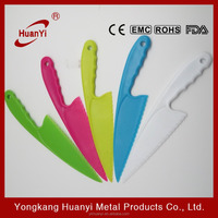 Wholesale Durable Custom Plastic Cutting Cake Knife (HY2175)