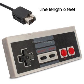 Wired game controller gamepad for mini NES classic edition the latest new console