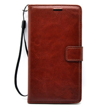 Hotting High-grade PU Leather Smart Phone Flip Wallet Cover Case for OPPO F1