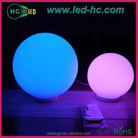 new color changing solar crackle glass ball led light