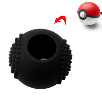 Black Soft silicone Case for Nintendo Switch Poke Ball Plus Cover Anti-Slip Protection case Bag