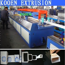 KOOEN new sytel automatic UPVC PVC cable trunking making machine production line extruder extrusion equipment machinery plant