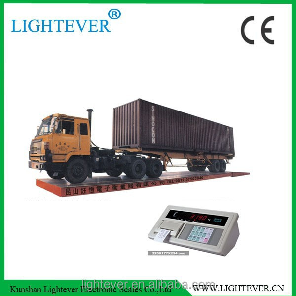 SCS 100 ton 60 ton digital weighbridge truck scale with CE