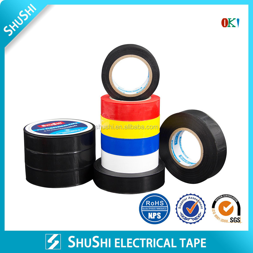 19mm*20m Good Adhesive PVC Insulated Tape