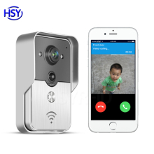 HSY-WF3 wi-fi video door phone long range wireless access control outdoor camera smart doorbell