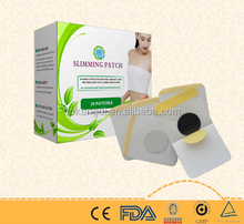 100% natural herbal medicine chinese slim patch