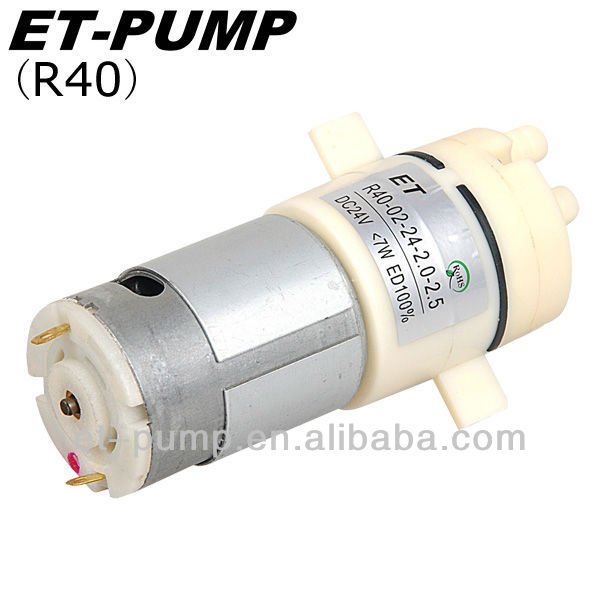 High pressure, Low Noise level For Instant hot water dispenser R40 Diaphragm Pump
