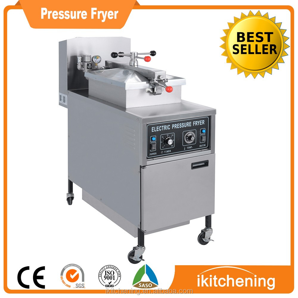Electric Gas Churro Machine And Fryer / Electric Gas Broaster Pressure Fryer
