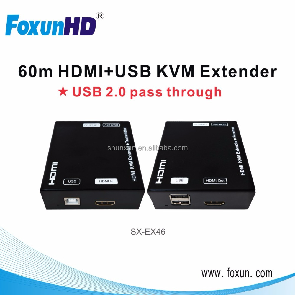 Hdmi Extender 100m Over Single Lan Cable Cat5 5e 6 X1 Sender Wiring Diagram Receiver View Foxun Oem Odm Product Details From Shenzhen Shunxun
