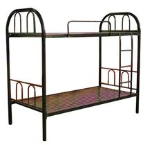 easy assembly cheap durable strong steel tube metal frame bunk bed