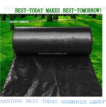 150gsm HDPE green color weed mat for controlling weed