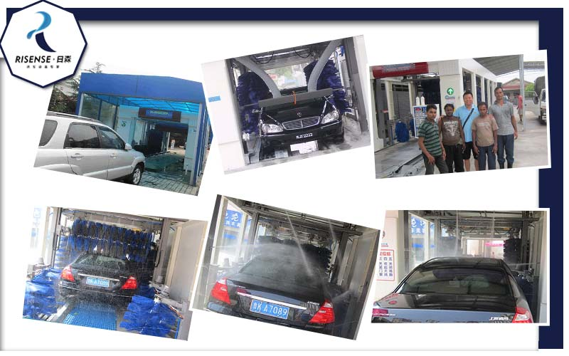 Fantastic Automatic Tunnel Car Wash Machine Tunnel Car Washer