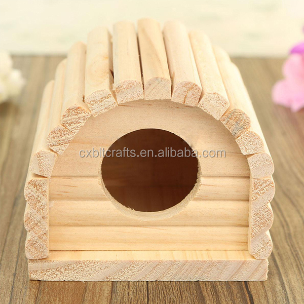 custom funny small wood hamster cage