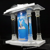 GUIHEYUN glass pulpit acrylic lectern church pulpit Customized Size latest design