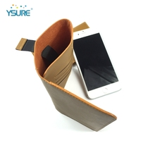 Factory wholesale leather flip case for lenovo